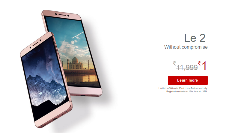 Buy-the-LeEco-Le2-mobile-at-just-1₹